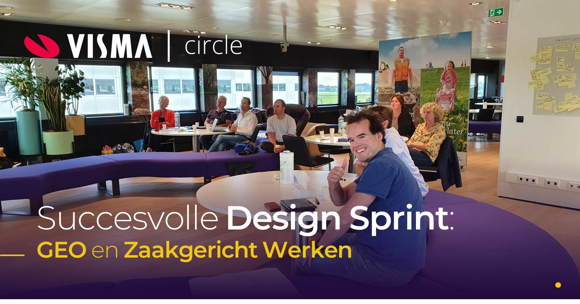Succesvolle Design Sprint GEO en zaakgericht Werken
