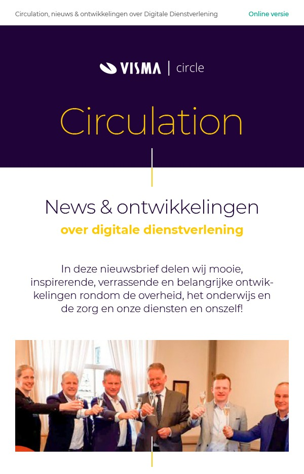 Visma-Circle-Circulation-Nieuwsbrief-voorbeeld-2020