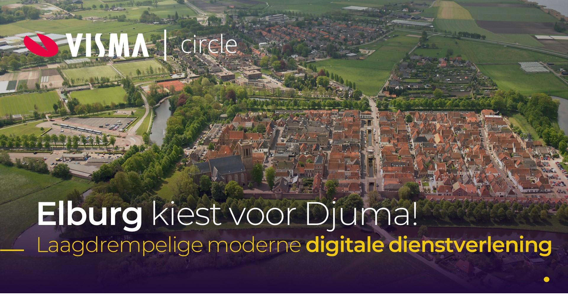 Gemeente Elburg kiest voor Djuma van Visma Circle