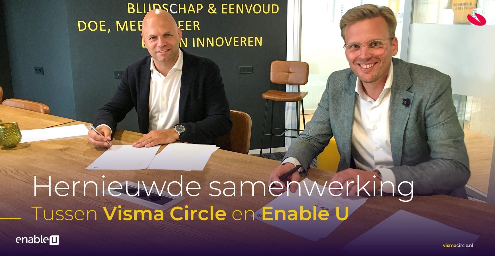 Hernieuwde samenwerking tussen Visma Circle en Enable U