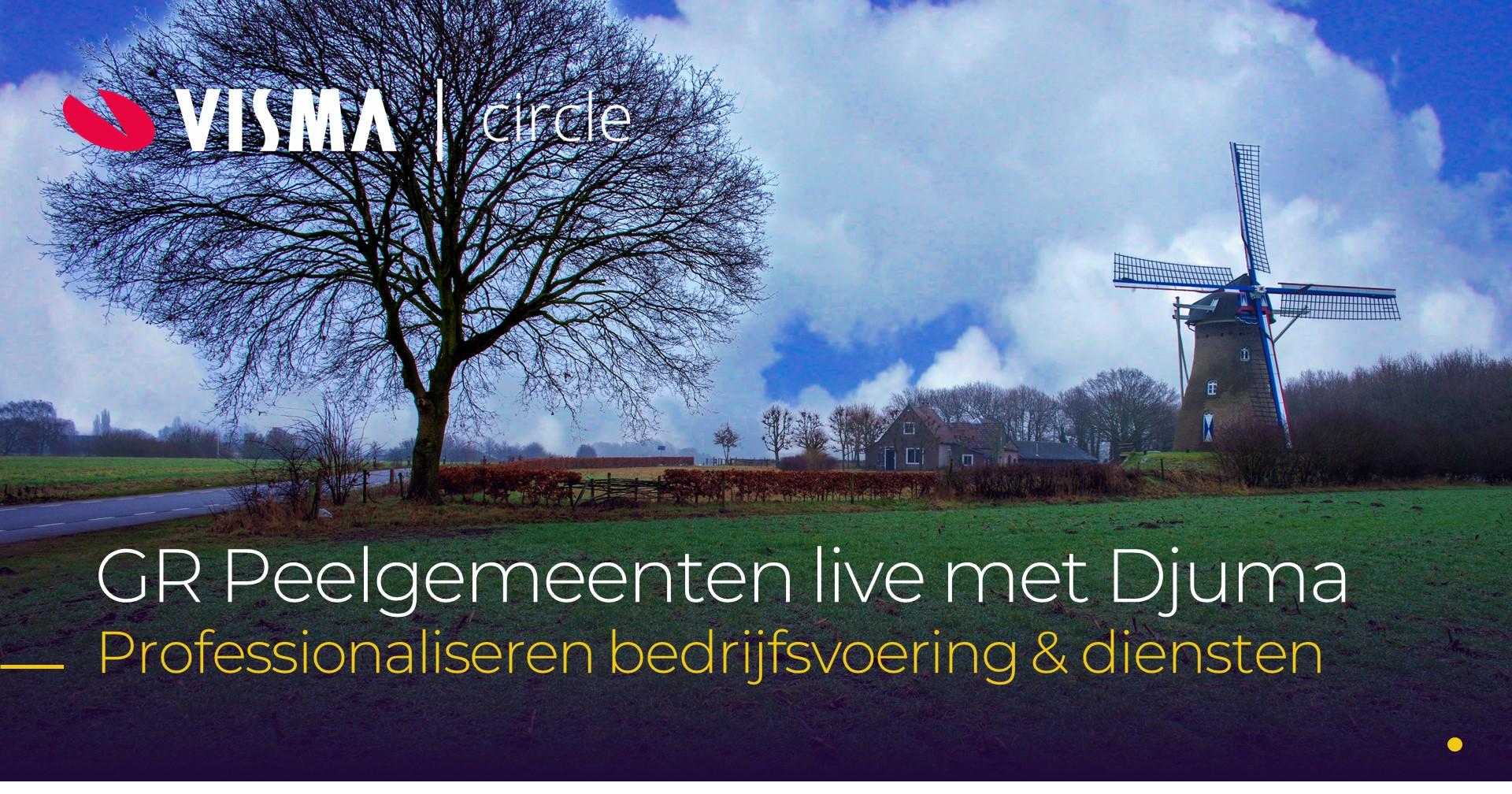 GR Peelgemeenten live met Djuma Zaaksysteem