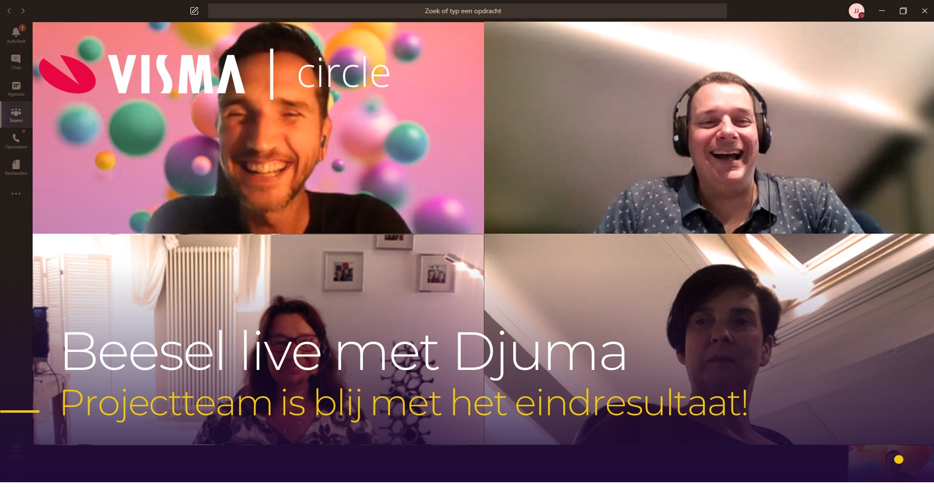 Gemeente Beesel live met Djuma