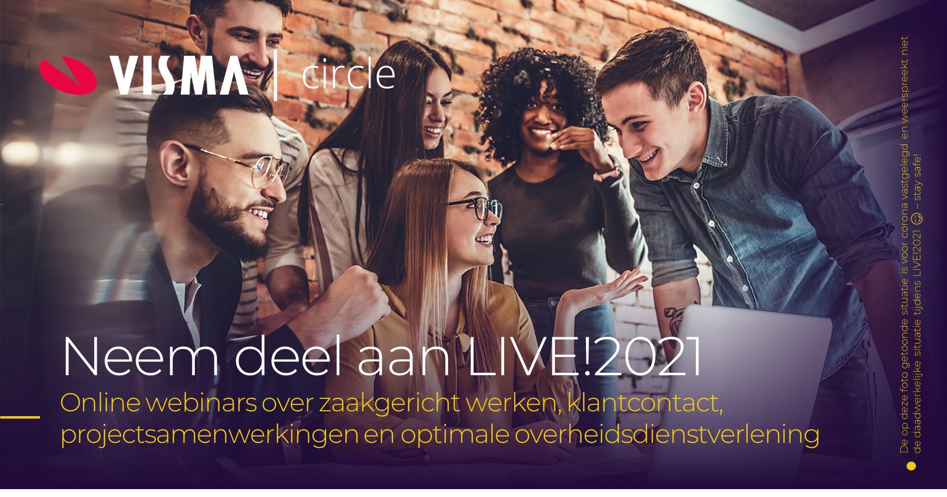 Visma Circle ook op LIVE!2021