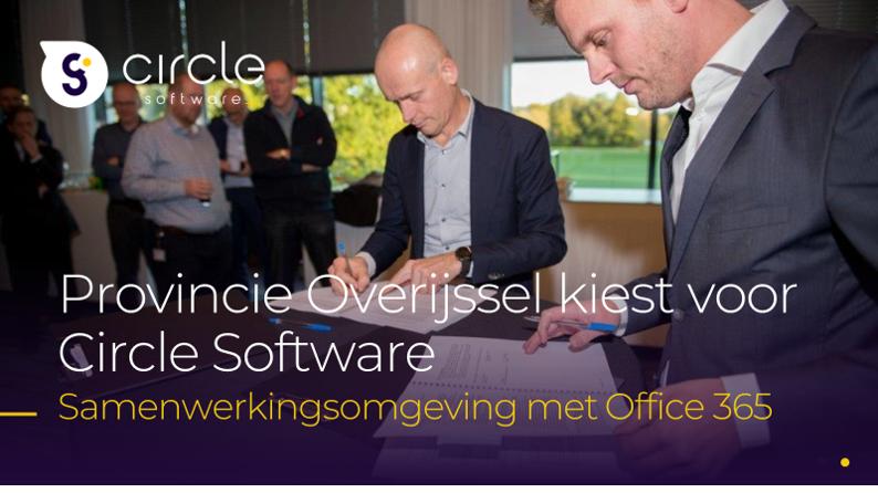 Provincie Overijssel kiest voor Circle Software