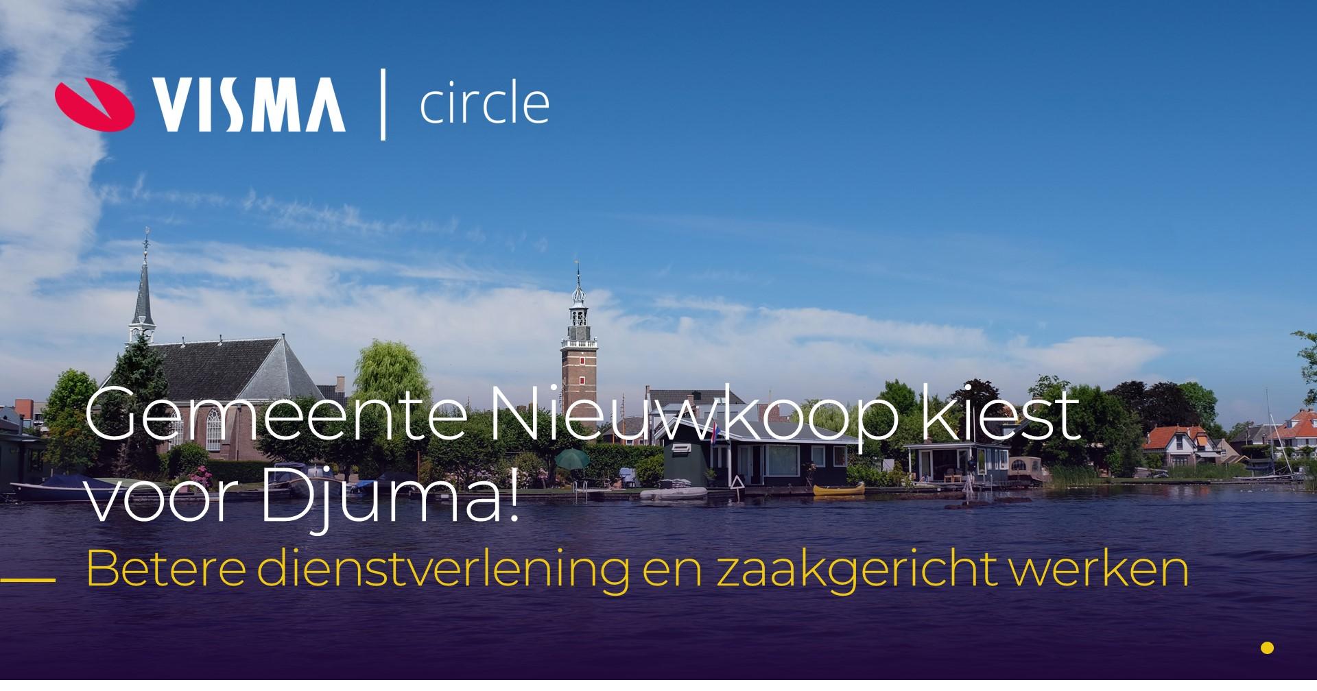 Gemeente Nieuwkoop kiest voor Djuma van Visma Circle